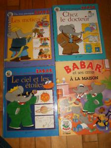BABAR  (4 livres) dis moi pourquoi babar