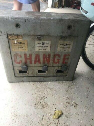 Vintage Standard Change Maker 5 Cent Coin Machine - Giant