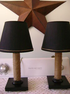 2 Nautical Table Lamps
