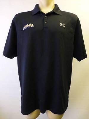 - mens UA UNDER ARMOUR Loose Heat Cabelas Facilities Pro Team s/s polo shirt sz XL