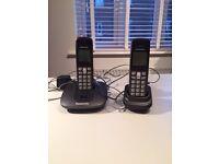 Panasonic cordless phone - two handsets.