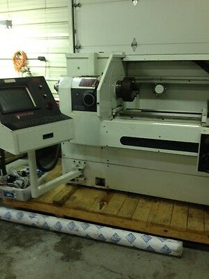Fryer Et-18 Cnc Lathe 1840 Touch 2000 Engine Flatbed Cnc Lathe Teach And Turn
