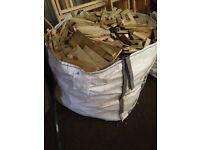 1 Tonne Bags / Sacks of Kindling - Firewood / Fire Starters