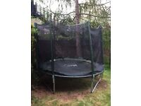 8ft Trampoline with safety net, spring cover and full assembly instructions