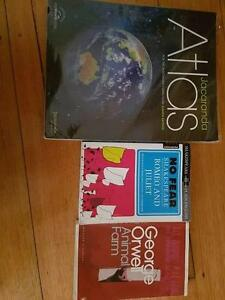 Chinese & Japanese Textbook, Atlas, Animal Farm & Romeo & Juliet Scoresby Knox Area Preview