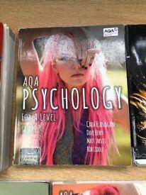 A Level Psychology text books AQA