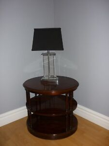 2 different side tables