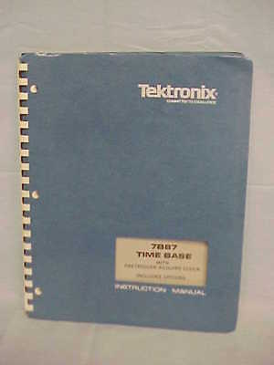 Tektronix 7b87 Time Base Instruction Manual