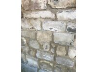 Reclaimed Limestone 5sq mtrs random course stone