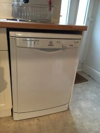 Indesit Eco Dishwasher, 12 months old.