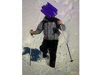 North Face ski, snow jacket. Men. Size S
