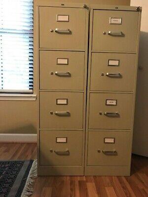 4 Drawer Metal Filing Cabinet Hon