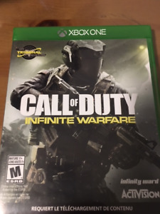 Jeu Call of DUTY XBOX ONE