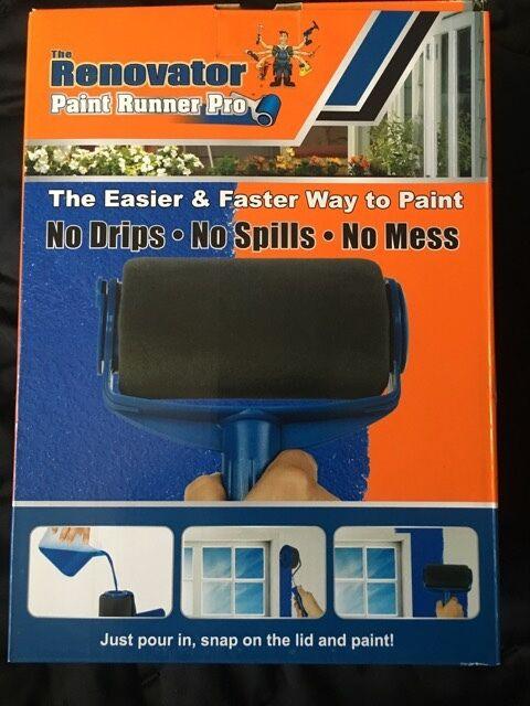 paint runner pro the renovator genuine item as seen on. Black Bedroom Furniture Sets. Home Design Ideas