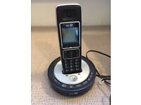 BT 6510 single digital cordless phone with answering machine