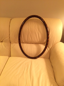 PHOTO FRAME , OVAL,  Made of  Solid Tigerwood