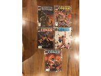 Lot 3 Savage Sword of Conan comics