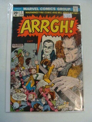 Marvel ARRGH 2 Universal Monsters 1975