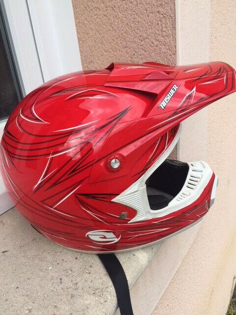 Casque motocross answer adulte unisexe taille l 59/60cm