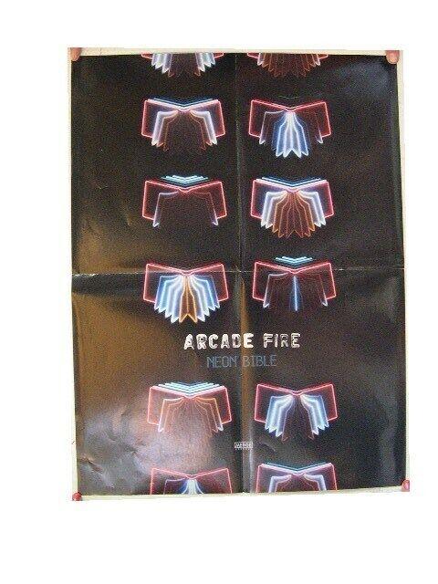 Arcade Fire Poster Neon Bible