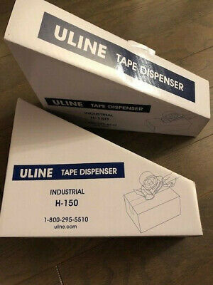 Uline H-150 Industrial Side Loader Hand Held Packaging Tape Gun Dispenser 2 New
