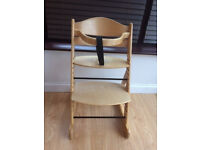 O Baby Wooden Highchair