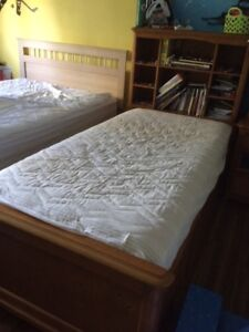 Solide Maple Captain's Bed