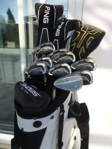 Superbe ensemble golf Cobra UFI, Callaway, taylormade burner