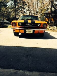 1966 FORD MUSTANG FAST BACK