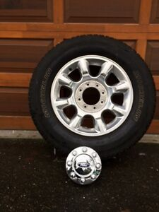 Ford Truck Factory Alloy Wheels & Michelin All Season Tires