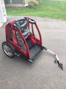 Bike Trailer for Kids  - hardly used