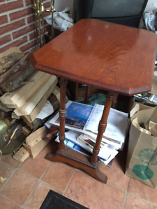 Antique end table - approx. turn of century