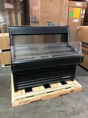 1134 True Thac-48 48 Horizontal Open Air Cooler W 3 Levels 115v