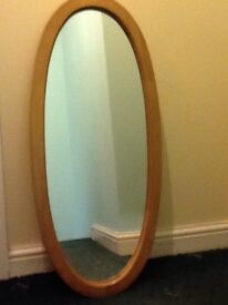 Oval 3ft mirror