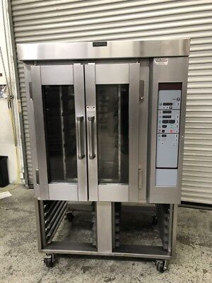 Electric Mini Rack Rotating Oven Bakery Hobart Ov300e 8790 Nsf Commercial Bake
