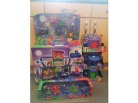 PJ Masks Bundle Toys Headquarters, Vehicles, Figures, playsets, HQ Brand New