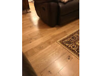 engineered solid oak wood floor (18mm) UV Lacquered RRP £33 per box