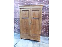 hand made solid pine wardrobe