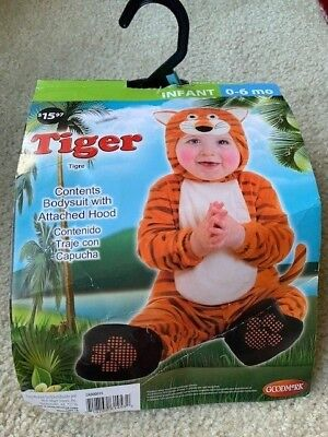 Halloween Costume Tiger - Tigre for Infant 0-6 months - Old Woman Halloween Costume For Baby