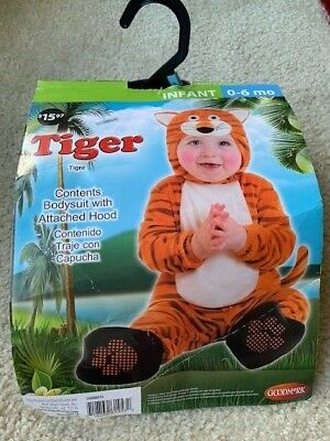 Halloween Costume Tiger - Tigre for Infant 0-6 months old.](Tiger Halloween Costume For Baby)