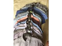 15 gents short sleeved shirts in immaculate nearly new condition