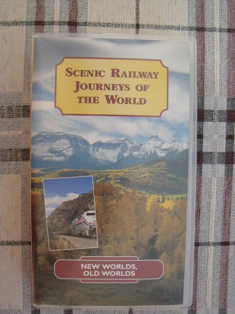 SCENIC RAILWAY JOURNEYS A NEW SET OF 3 NEW-WORLDS-OLD WORLDS-PYRAMIDS-DOWN UNDER