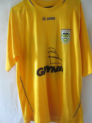 Arka Gdynia 2009-2010 Away Football Shirt Size Medium /14268 image
