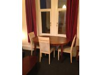 2 BEDROOM FURNISHED FLAT IN QUIETER PART OF CROSSHILL GLASGOW