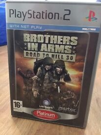 Sony PS2 Game - Brothers In Arms Road To Hill 30