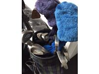 Ladies Callaway golf clubs, bag and accessories