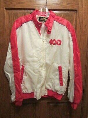 Vintage Coca Cola 100th Anniversary Jacket-Light Jacket-Windbreaker Size Medium