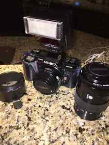 Minolta Maxxum 7000 35mm Bundle