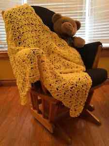 Crochet and Knit Baby Blankets