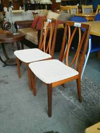 2 G Plan Dinningroom Chairs 25£ Each
